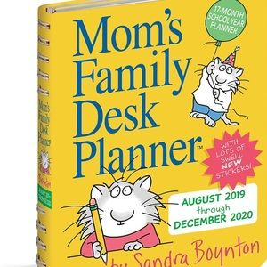 🔥2 for $20 NEW Mom's Family Desk Planner